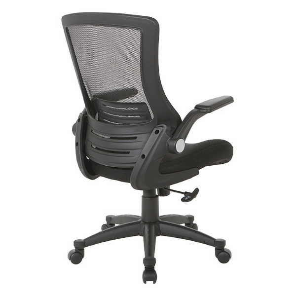 Values Flip Arm Mesh Office Chairs