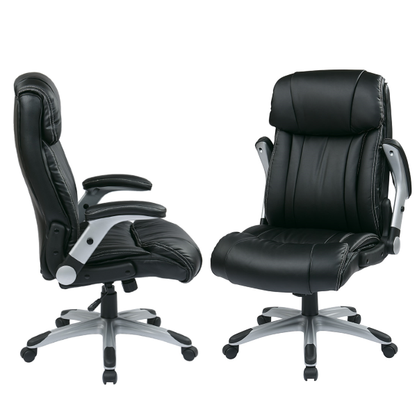 Executive Chairs with Flip Armrests