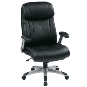 Values High Back Chair with Flip Arms