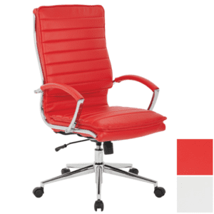 Red High Back Executive Chair