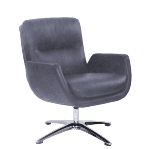 Values Distressed Leather Club Chair